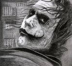 Heath Ledger -Joker by Doctor-Pencil