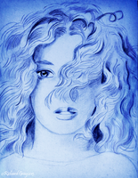 The Female Face and Hair by RicGrayDesign