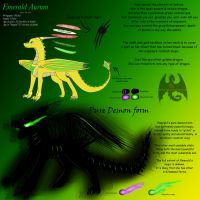 Emerald Reference Sheet by ObsidianDragoness