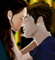 Edward and Bella by Gwiibear