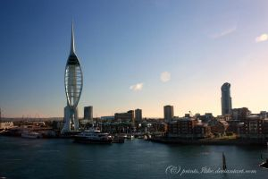 The Spinnaker at Dawn by printsILike