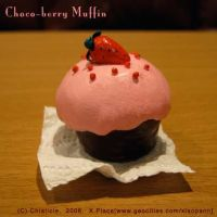 Choco-berry Muffin by Chiaticle