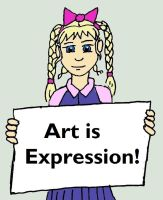 Chibi Sign Art is Expression by MelianOfMist