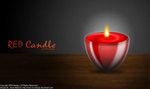 RED Candle by DRX-Design