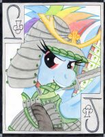 The Energetic Jack of Clubs: Rainbow Dash by The1King
