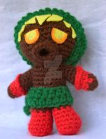 Deku Link amigurumi by pirateluv