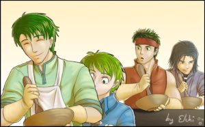 FE9 - Cooking stuff by supertimer