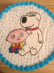 Family Guy cake by Bluesoul1