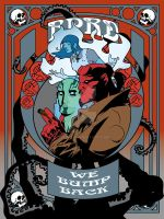Hellboy Nouveau Poster by Geek-0