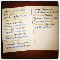 Instagram - Corporate Abecedary by MShades