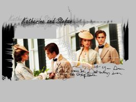 Katherine and Stefan by tru4ever