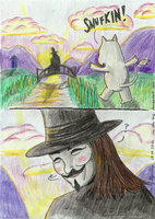 Snufkin's face by Elise-Lucy
