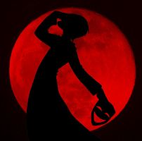 Blood Red Moon by riddle882
