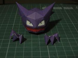 Chibi Haunter Papercraft by bslirabsl