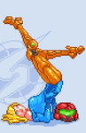Pin-up Samus by Olsonmabob