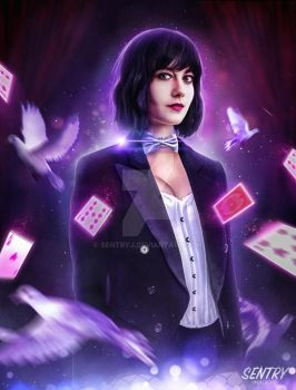 Zatanna - Mary Elizabeth Winstead by sentryJ