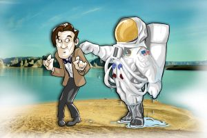 Lake Silencio, 4-22-11, 5:02pm by DouggieDoo