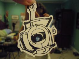 Wheatley from Portal 2 by GoWaterTribe