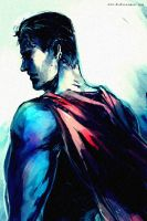 Last Son of Krypton by Haining-art