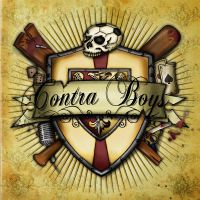 Contra Boys 7'' cover art by H8edge