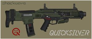 Quicksilver Industries: 'Hellcat' PDW by Shockwave9001