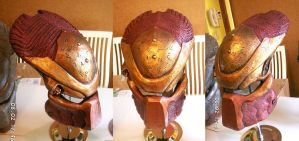 Ancient Elder Predator Helmet by Uratz-Studios