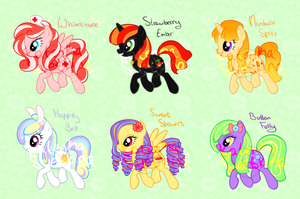 MLP:FIM Adoptables [ALL SOLD] by Katyenka-Svetlana