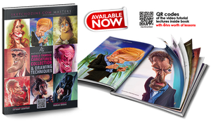 World Famous Caricatures Collection Book by AnthonyGeoffroy