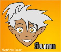 Solomon face by nickowolf