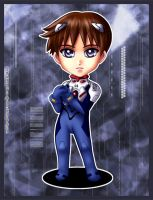 Fanart - Shinji Ikari chibi by Emoon18