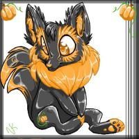 Halloween Chibi Celinox by The-NK