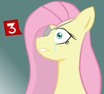 Ask Traumatized Fluttershy Icon by AmandaGoldheart