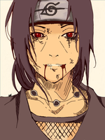 Itachi Uchiha by TheMerthyrRiot