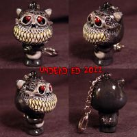 Munny Style Undead Kitty by Undead-Art
