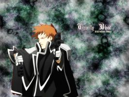 Trinity Blood Father Tres Wall by Agret