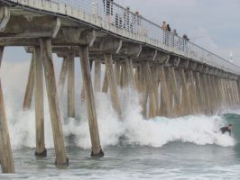 Hermosa High Surf by imeric90277