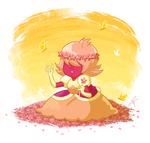 Padparadscha meeting Earth by ClaraKerber