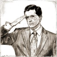 Stephen T. Colbert by goshnessmaggy