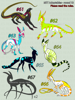 CLOSED//MTT adoptables - round 13 by annicron