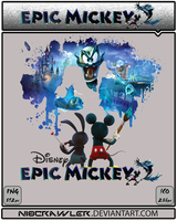 Epic Mickey 2 Icon by Ni8crawler
