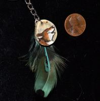 FeatherFox KeyPendant by TaksArt