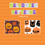 Halloween Patterns- by PurpleShake