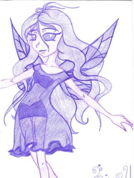 violet fairy by Purple-Butterfly7