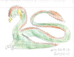 Monster Files #23. Quetzalcoatl by ScarletSpike
