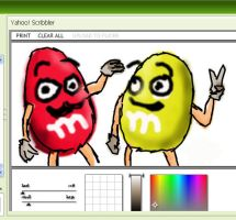 mNm charecters yahoo by goldenEden