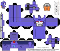 Cubee - Galvatron 'G1' by CyberDrone