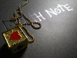 death note and gold dice by luckysevenstars