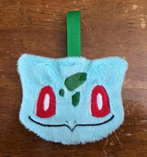 Bulbasaur '' Pokemon Plush Keychain Patron Reward! by GuardianEarthPlush