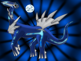 LEGENDS: Dialga by NewMoonNightmare