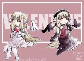 Valentine - Chobits by sw